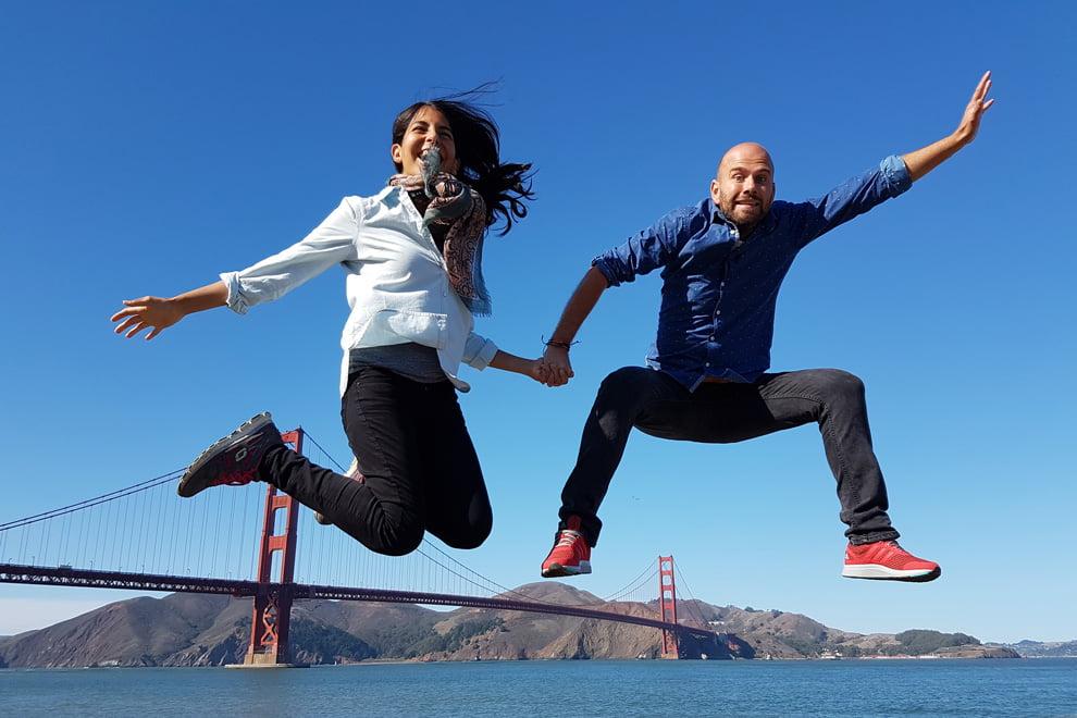 Viaje a San Francisco Dani y André