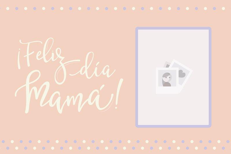 Imagen del descargable gratis de papel Día de la Madre