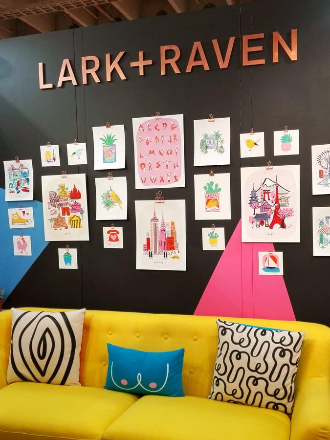 Stand de Lark+Raven en el NSS 2017