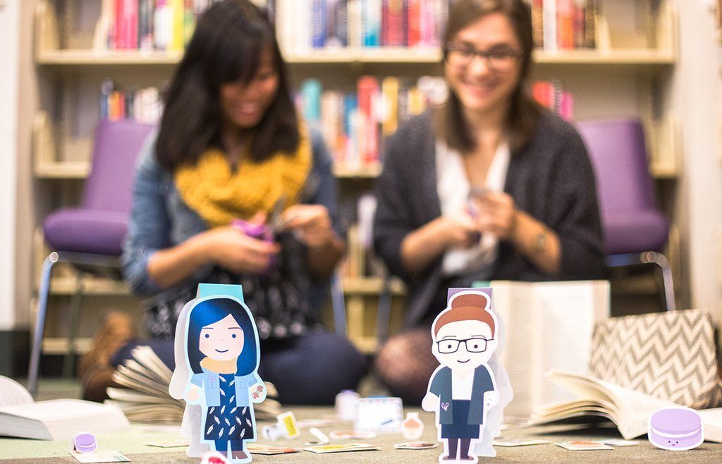 Diana y Erica, creadoras de Crafted Van