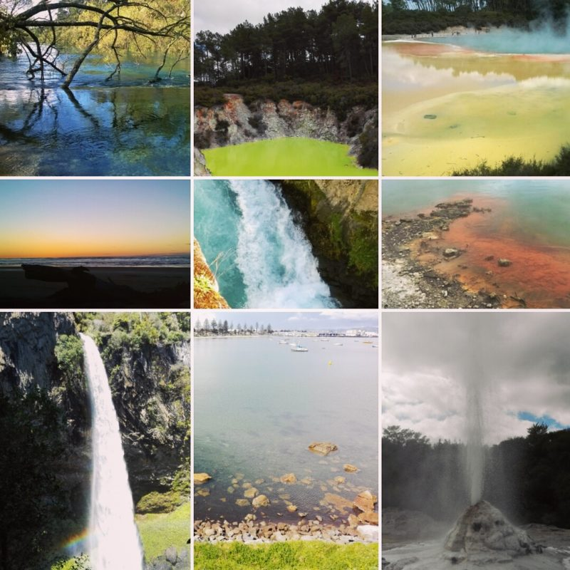 South Island fotos NZ